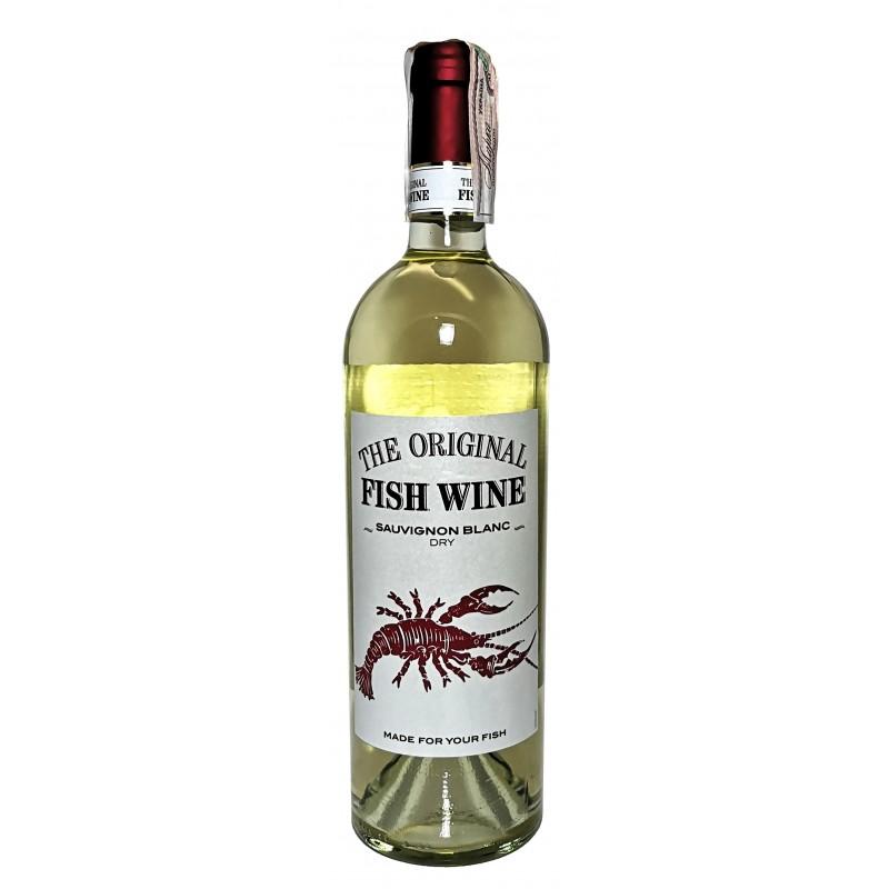 Купить Вино Sauvignon Blanc Fish белое сухое Trocken