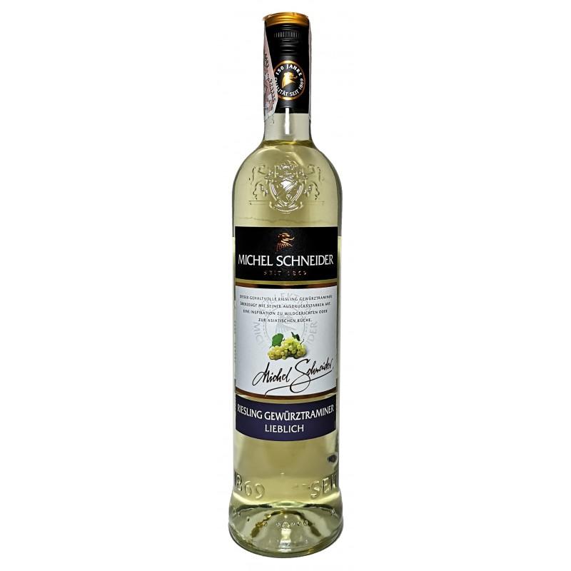 Купить Вино Gewurztraminer Lieblich белое полусладкое Michel Schneider