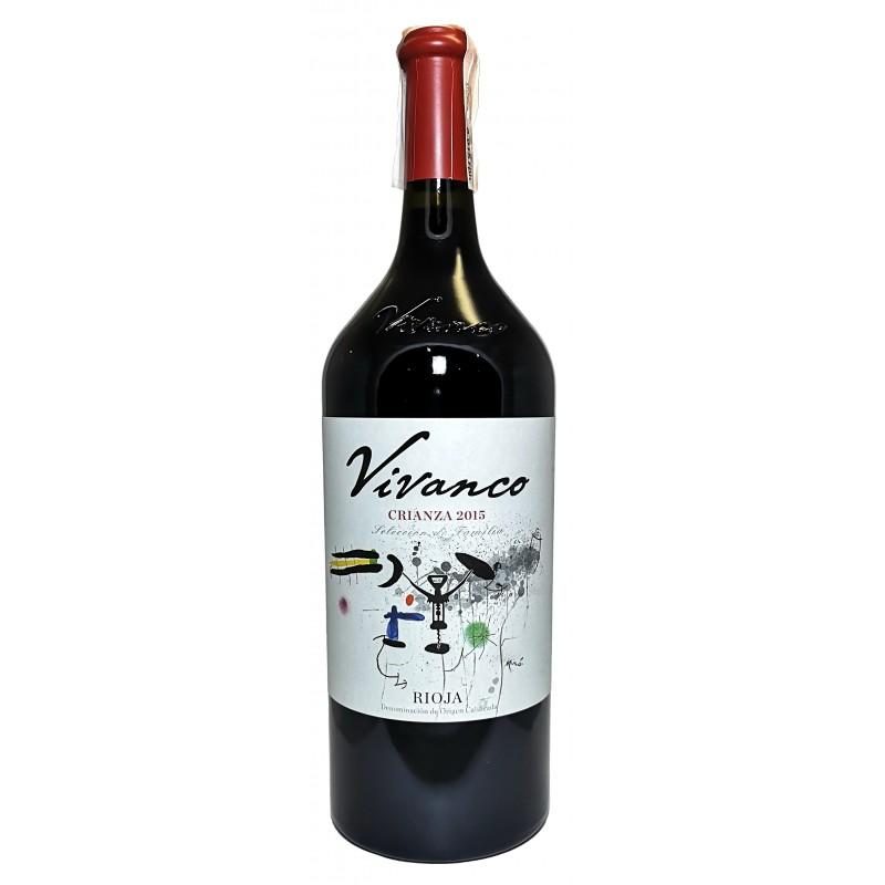 Купити Вино Vivanco Red Crianza червоне сухе 1,5 л