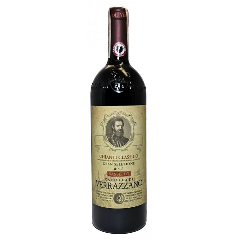 Купити Вино Chianti Classico DOCG Gran Selezione червоне сухе Verazzano