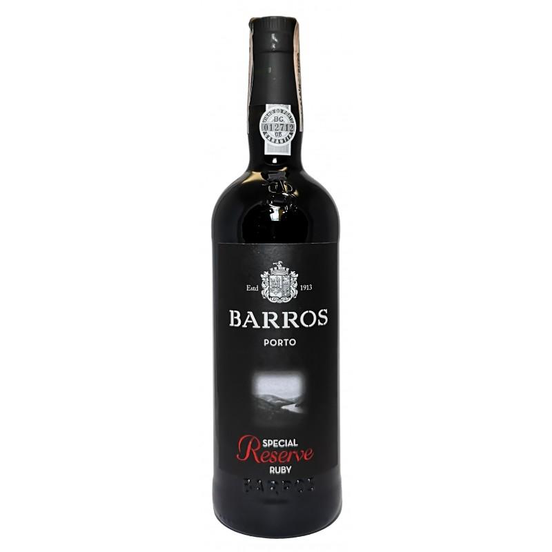 Купить Портвейн BARROS  RUBY RESERVE Красный Португалия Порто