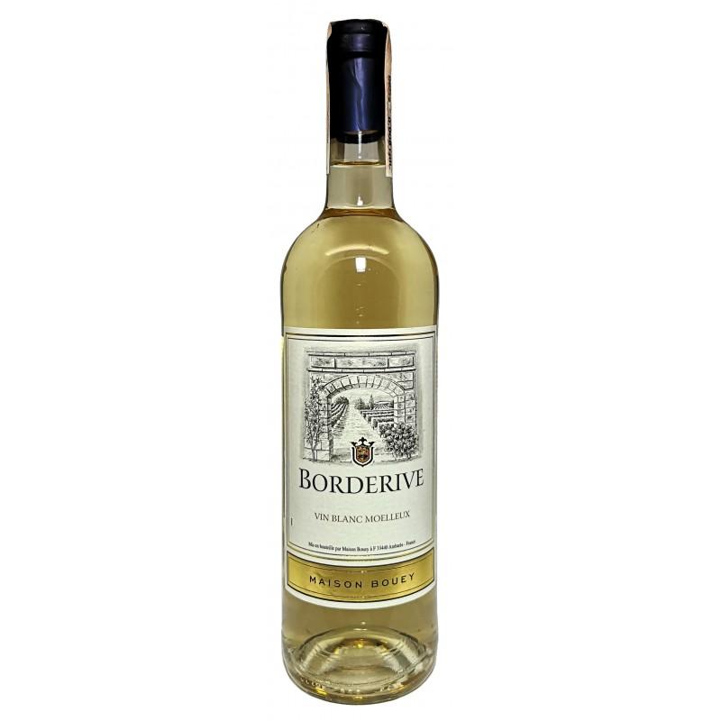 Купить Вино Borderive белое полусладкое