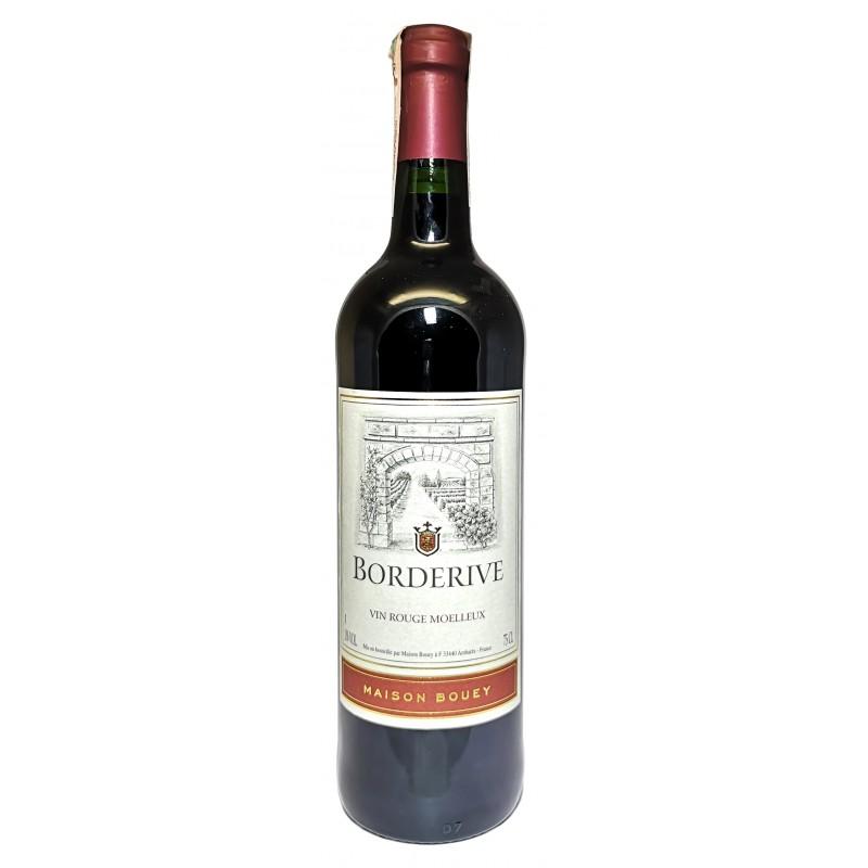 Купить Вино Borderive красное полусладкое
