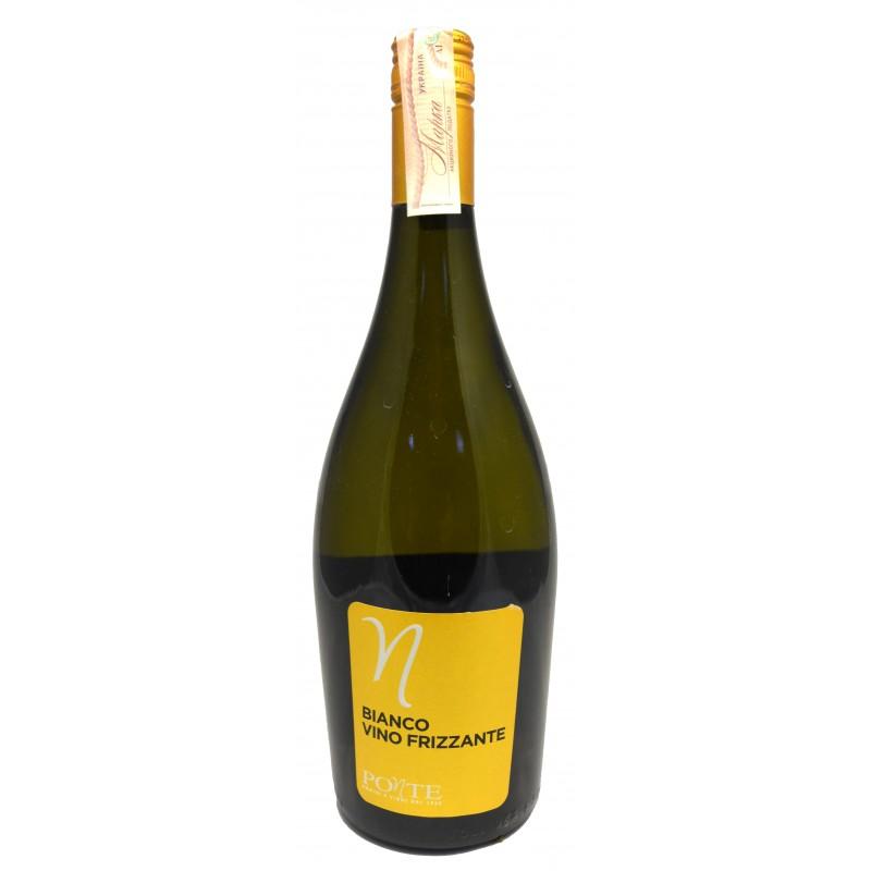 Купити Вино ігристе Bianco Frizzante брют біле Ponte