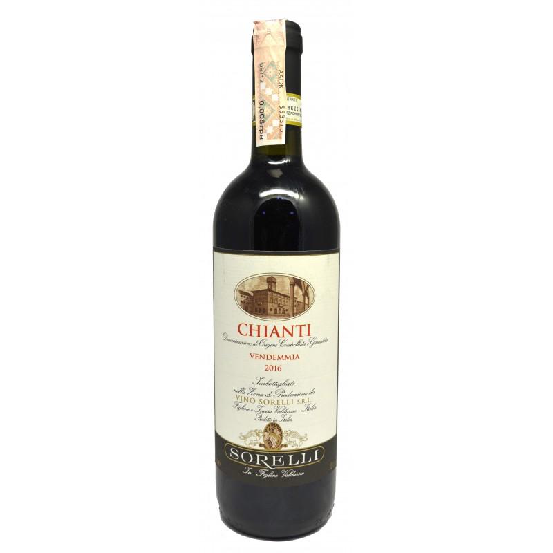 Купить Вино Chianti Sorelli DOCG красное сухое