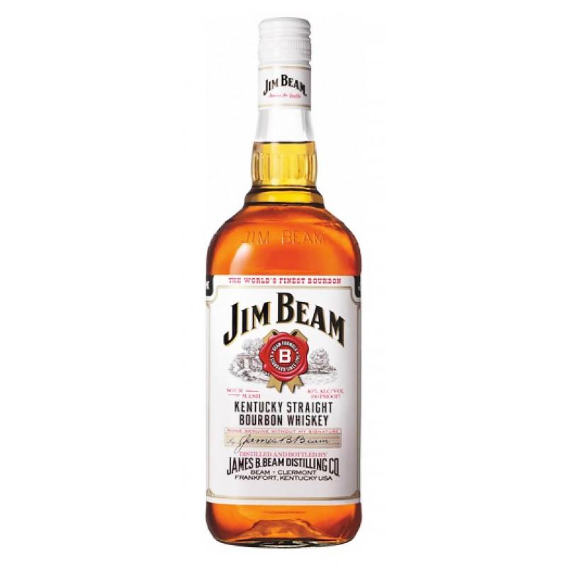 Купити Бурбон Jim Beam White Label 0.5л