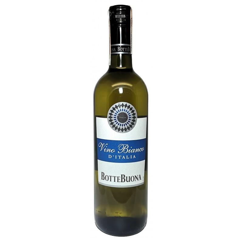 Купить Вино Vino Bianco D\'Italia белое полусухое  Botte Buona