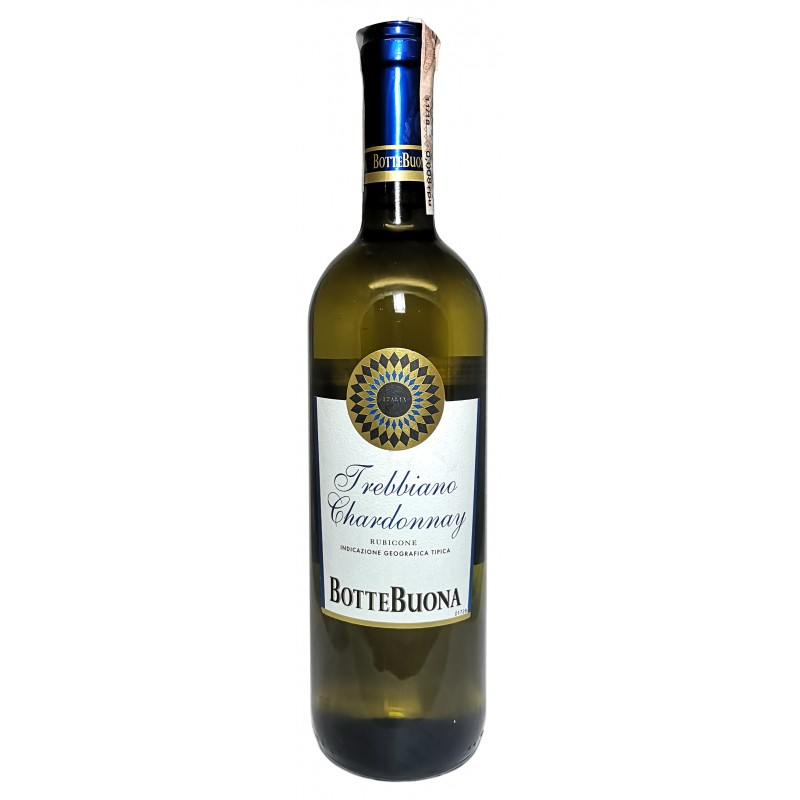Купить Вино Vino Trebbiano Chardonnay IGT сухое белое Botte Buona