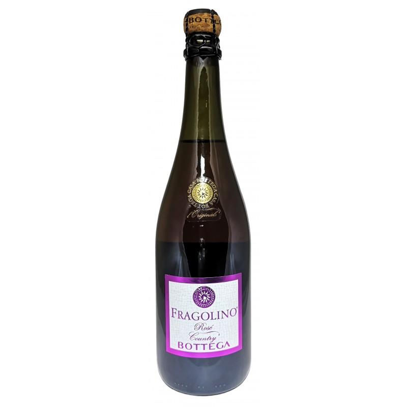 Купить Вино игристое Fragolino Rose с земляничным соком Bottega