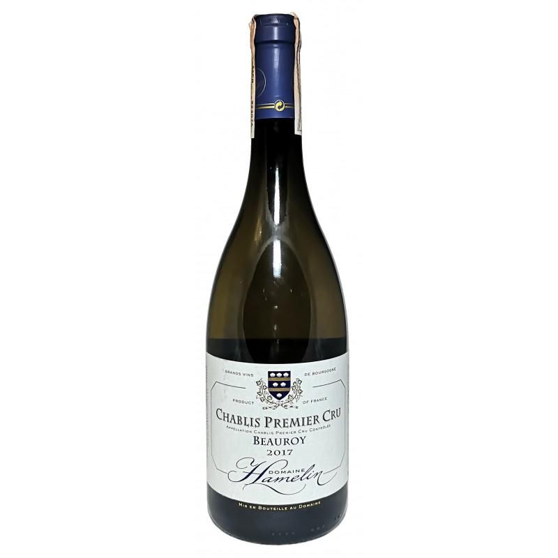 Купить Вино Chablis Premier Cru Beauroy белое сухое Domanie Hamelin
