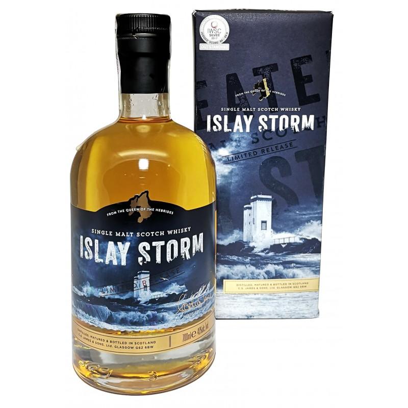 Купить Виски Islay Storm Single Malt 0,7л в коробке