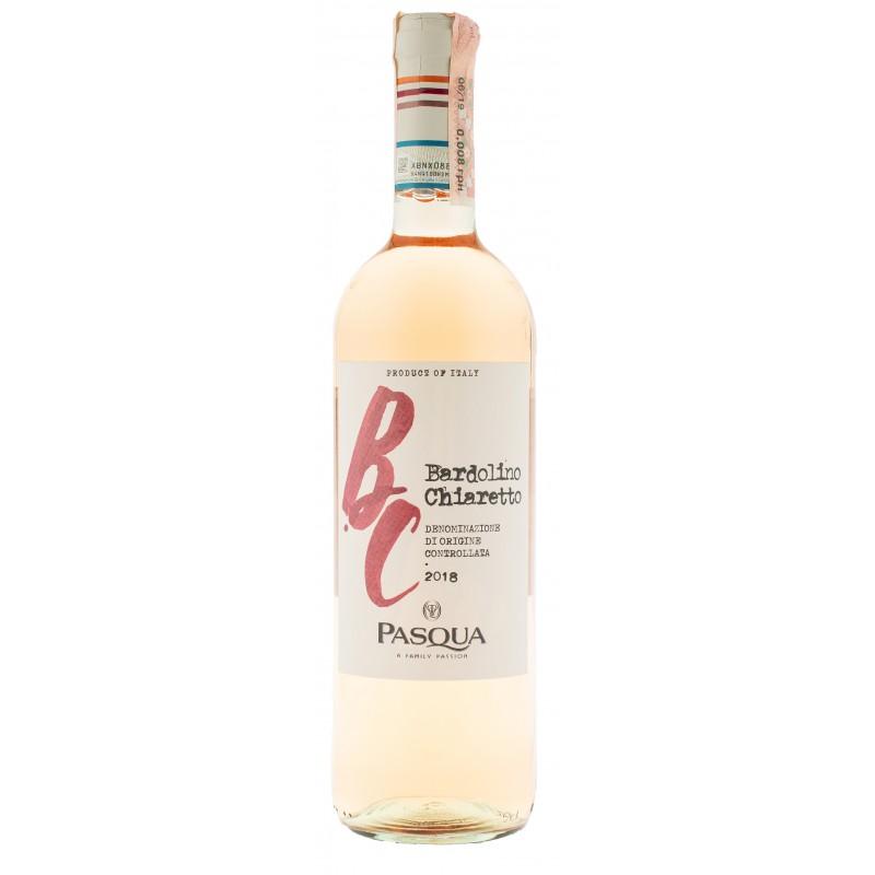Купити Вино Bardolino Chiaretto DOC рожеве сухе 0,75л Pasqua
