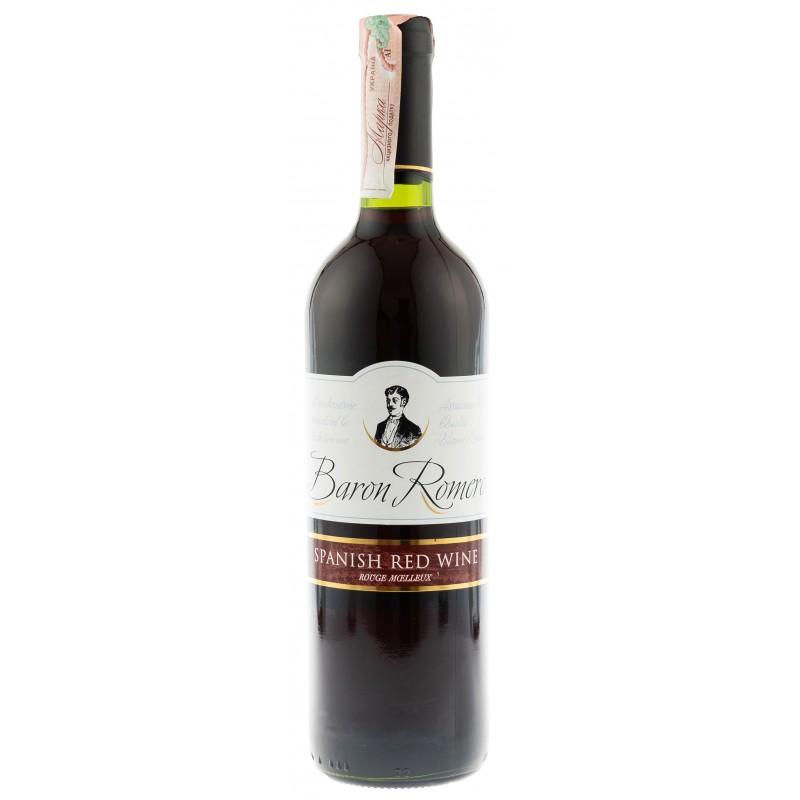 Купить Вино Baron Romero Red красное полусладкое