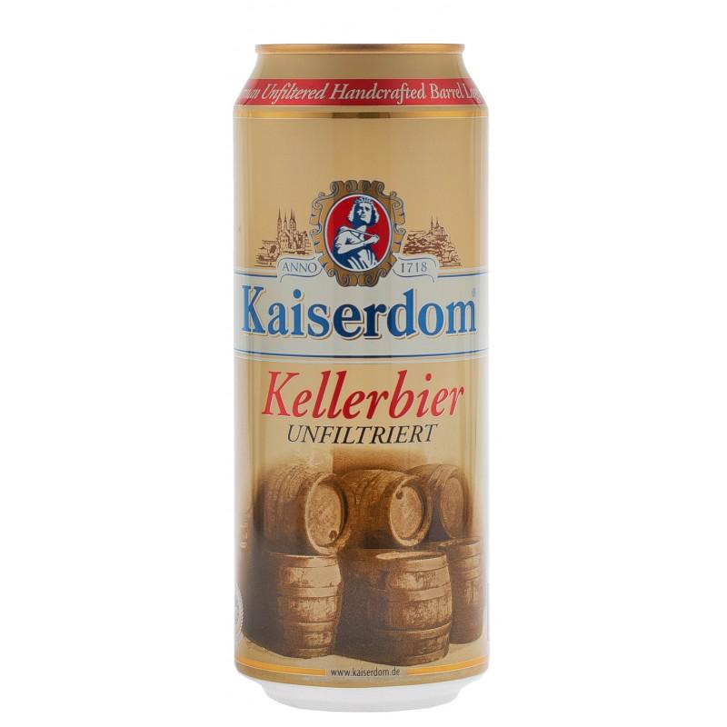 Купити Пиво світле нефільтроване Kellerbier Dosen 0.5л з/б Kaiserdom