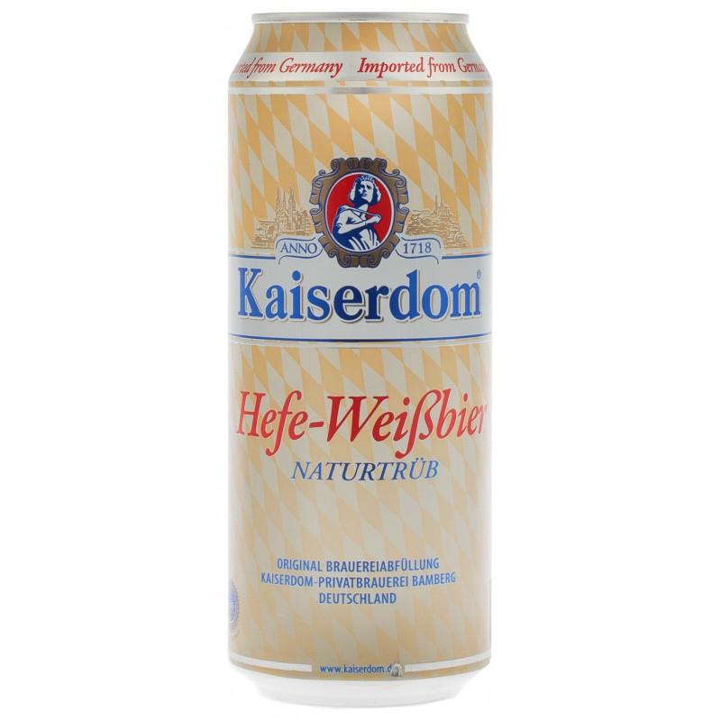 Купити Пиво світле пшеничне Hefe-Weißbier 0.5л з/б Kaiserdom