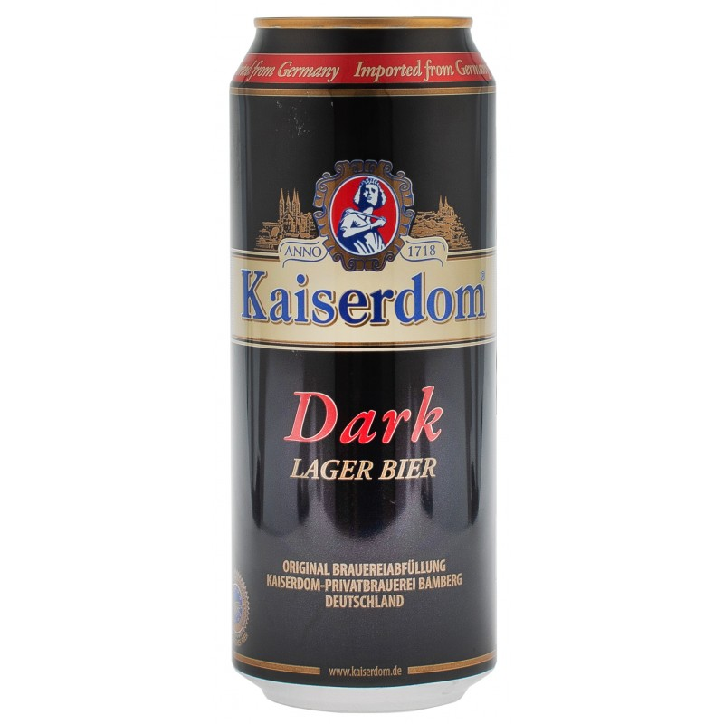 Купить Пиво темное Kaiserdom Dark 0,5л ж/б  Kaiserdom
