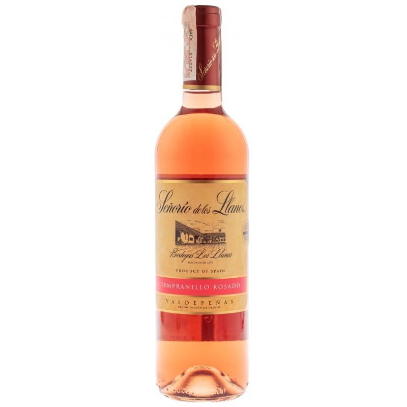Купити Вино Senorio Llanos Rosado рожеве сухе Garcia Carrion