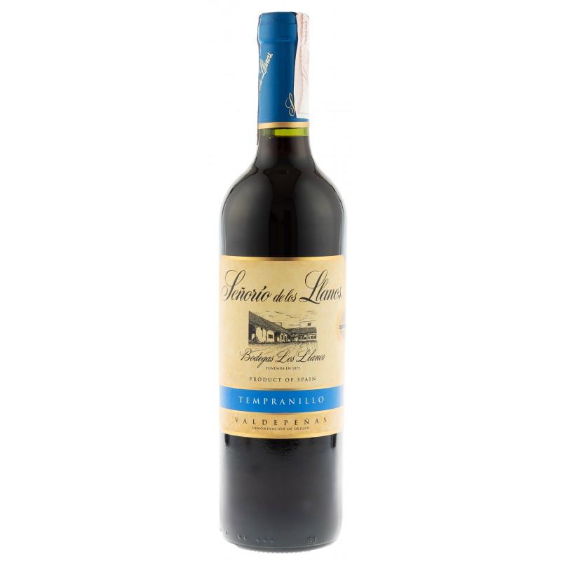 Купить Вино Senorio Llanos Tempranillo красное сухое Garcia Carrion