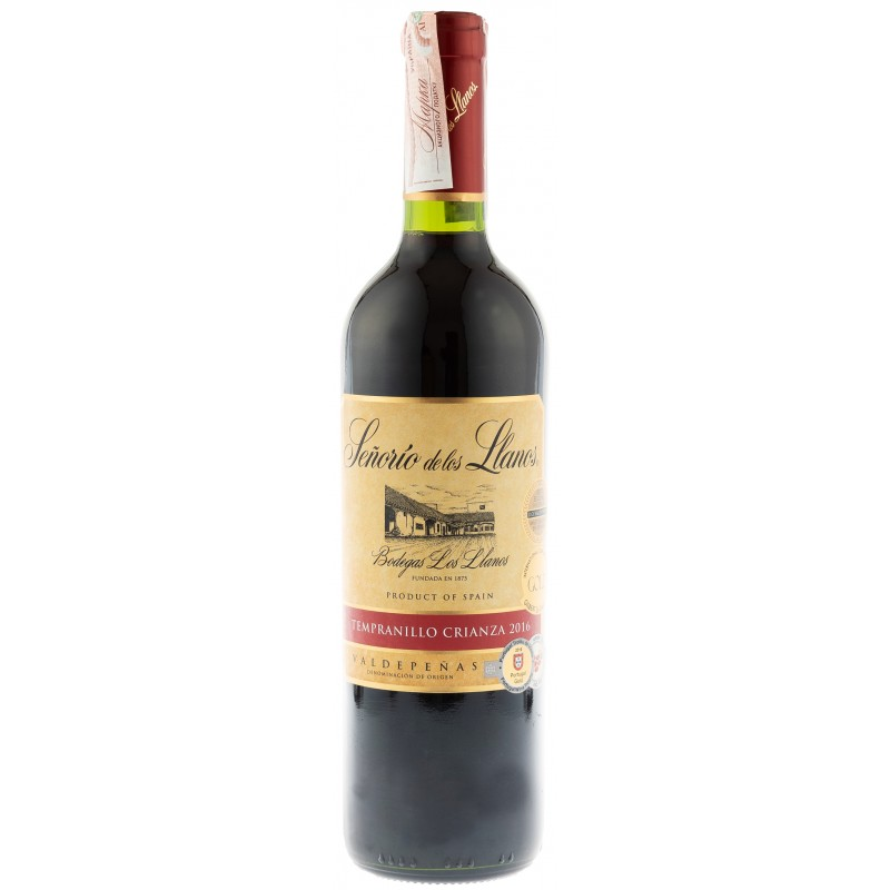 Купить Вино Senorio Llanos Crianza красное сухое Garcia Carrion