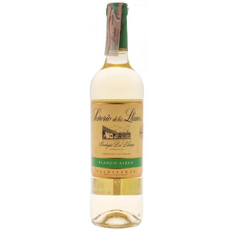 Купить Вино Senorio Llanos Blanco белое сухое Garcia Carrion
