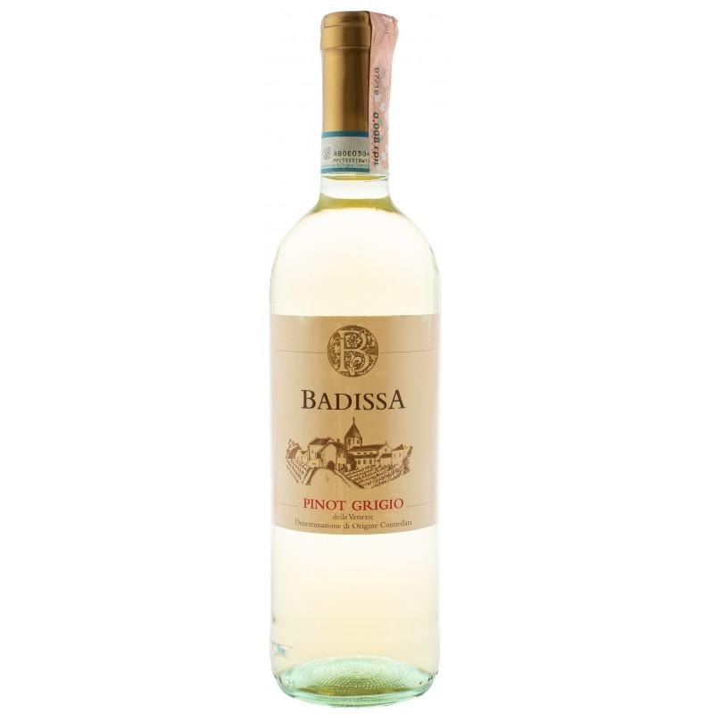 Купить Вино Badissa Pinot Grigio IGP белое сухое