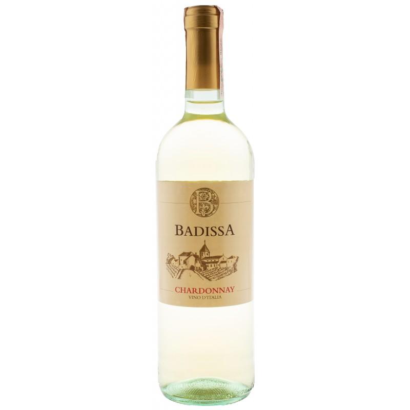 Купить Вино Badissa Chardonnay IGP белое сухое