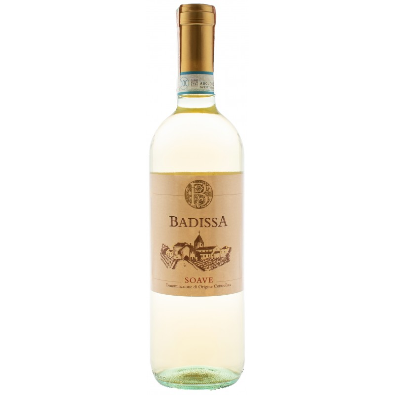Купить Вино Badissa Soave DOC белое сухое