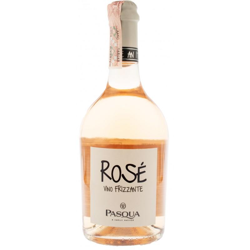 Купити Вино ігристе Frizzante Rose рожеве брют Pasqua