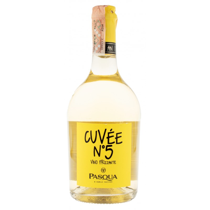 Купити Вино ігристе Frizzante Cuvee №5 біле брют Pasqua