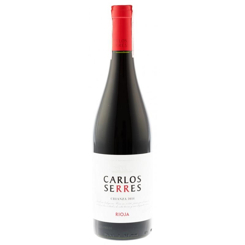 Купить Вино Carlos Serres Crianza красное сухое