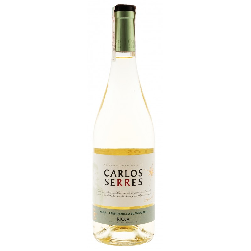 Купить Вино Serres Viura-Tempranillo белое сухое