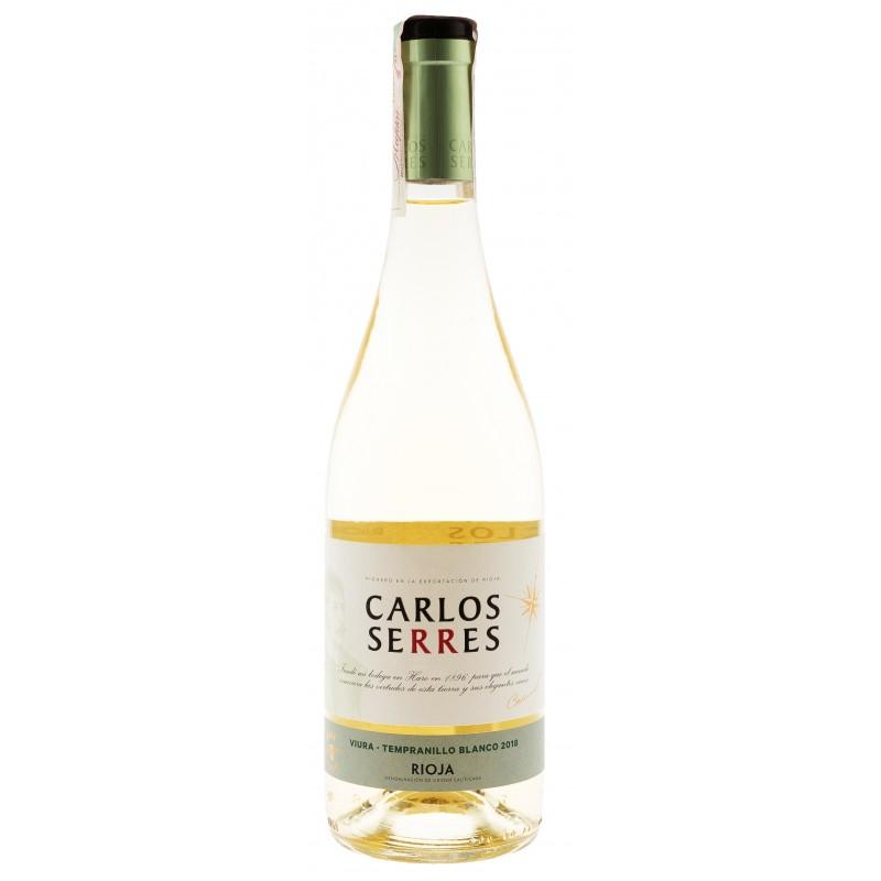 Купити Вино Serres Viura-Tempranillo біле сухе