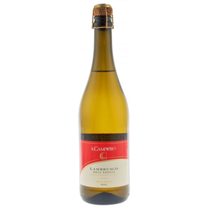 Купить Вино игристое Lambrusco Campiero Bianco белое