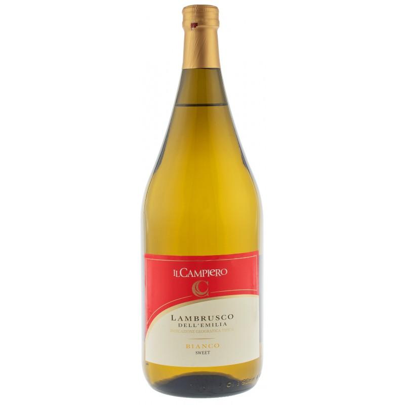 Купить Вино игристое Lambrusco Campiero Bianco