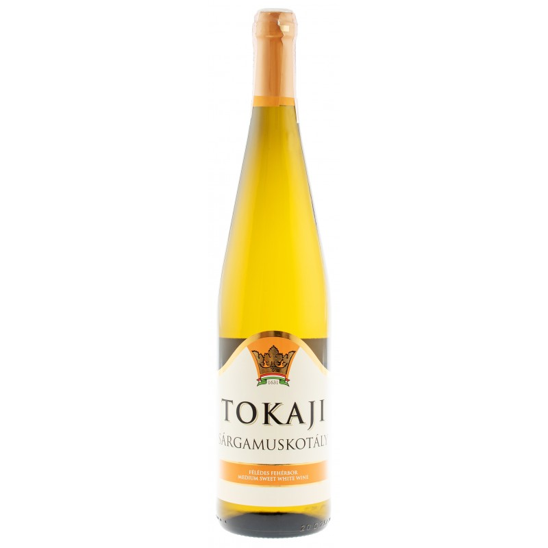 Купить Вино Tokaj s.muskotály semisweet белое полусладкое