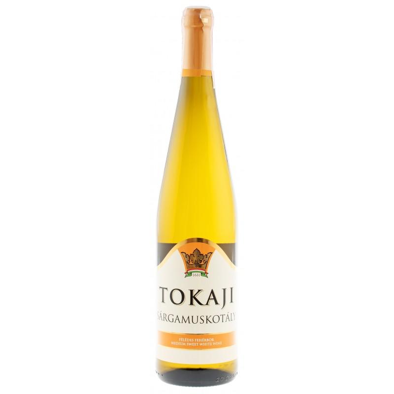 Купити Вино Tokaj s.muskotály semisweet біле напівсолодке