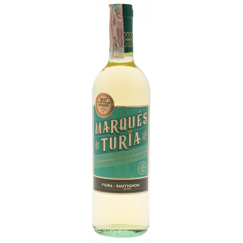 Купити Вино Blanco Viura-Sauvignon біле напівсухе Marques Del Turia