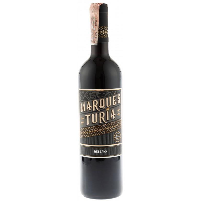 Купить Вино Reserva красное сухое Marques Del Turia