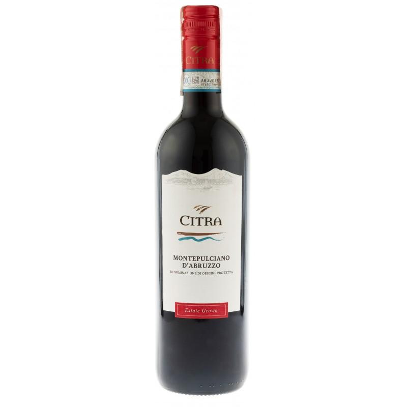 Купить Вино Montepulciano d\'Abruzzo DOP красное сухое Citra Solchi