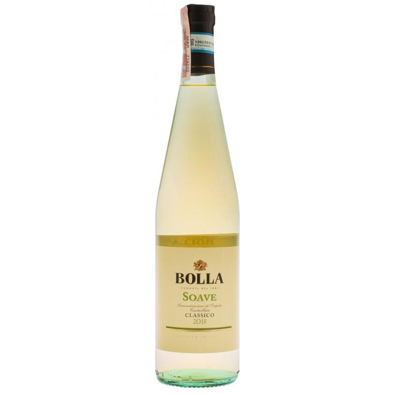 "Вино ""Soave Classico DOC"" 0,75л ТМ ""Bolla"""