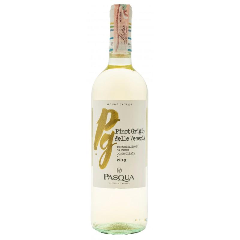 Купить Вино Pinot Grigio Venezie DOC Pasqua белое сухое Pasqua