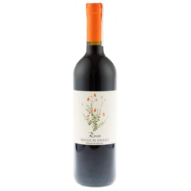 Купити Вино Primaverina червоне напівсолодке