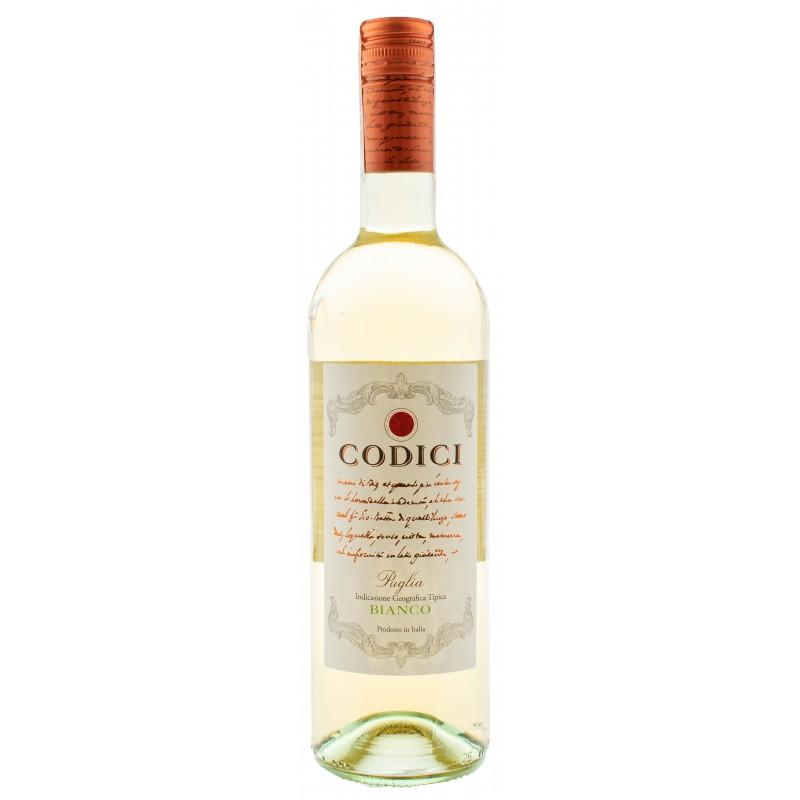 Купить Вино Codici Bianco IGP белое сухое