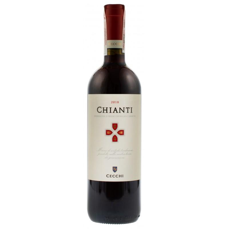Купити Вино Chianti DOCG червоне сухе Cecchi