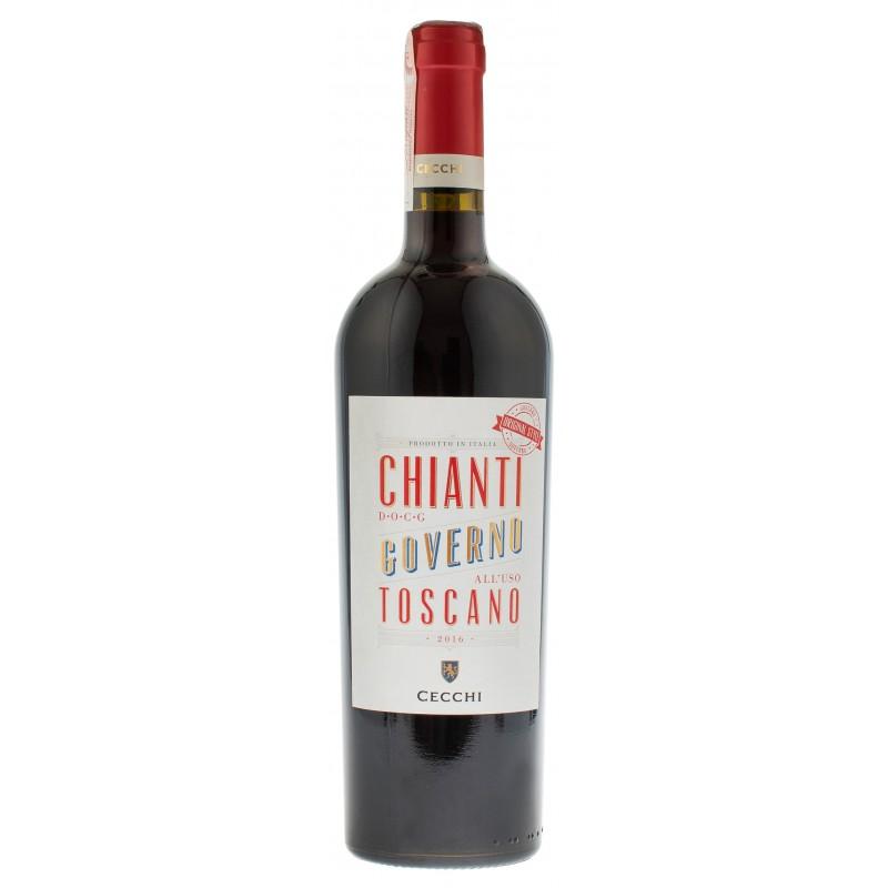 Купити Вино Chianti Governo DOCG червоне сухе Cecchi