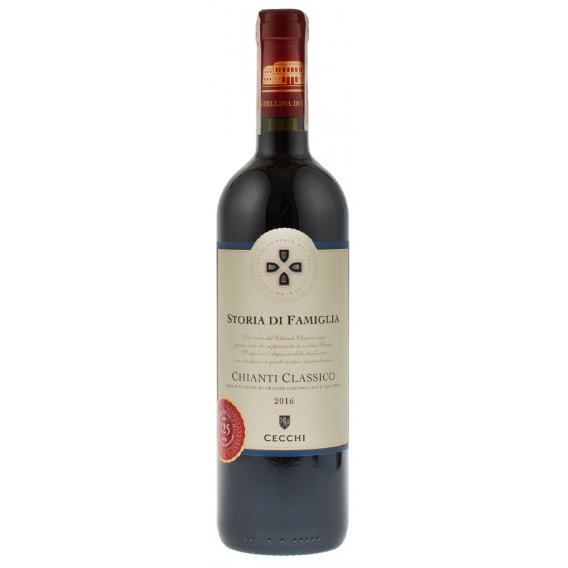 Купити Вино Chianti Classic DOCG червоне сухе Cecchi