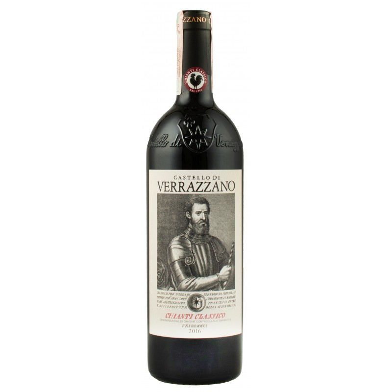 """Вино """"Chianti Classico DOCG"""" 0,75л ТМ """"Verrazzano"""""""