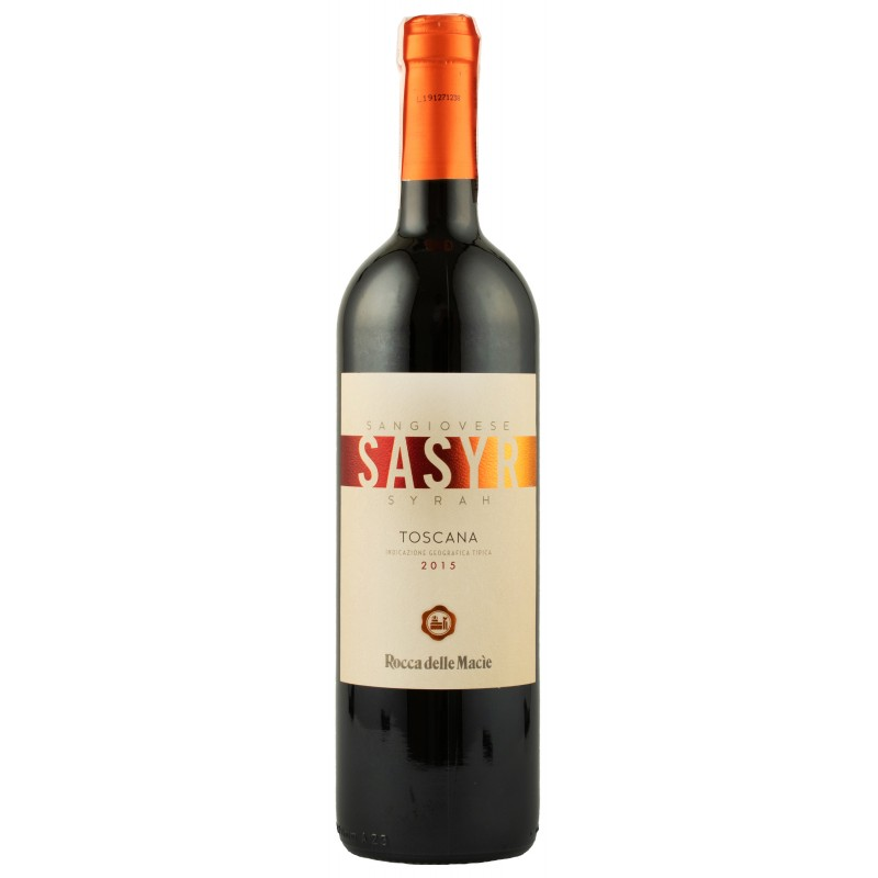 "Вино ""Sasyr Toscana IGT"" 0,75л ТМ ""Rocca Delle Macie"""