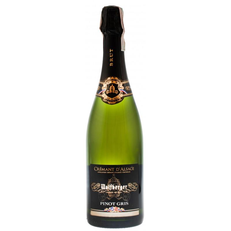 Купить Вино игристое Cremant D`Alsace Pinot Gris Wolfberger