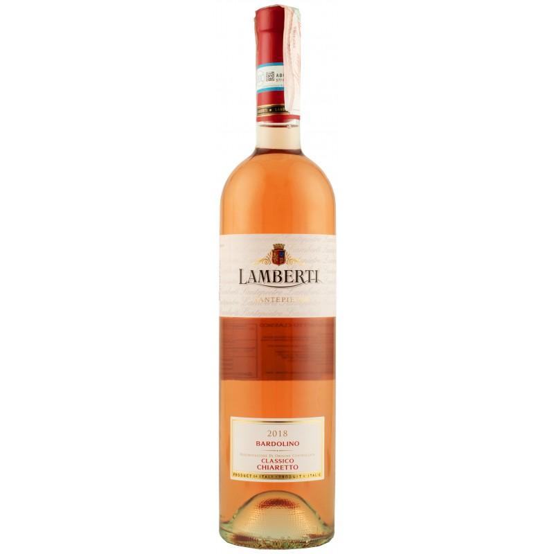 """Вино """"Bardolino Chiaretto Classico  DOC"""" 0,75л ТМ """"Lamberti"""""""